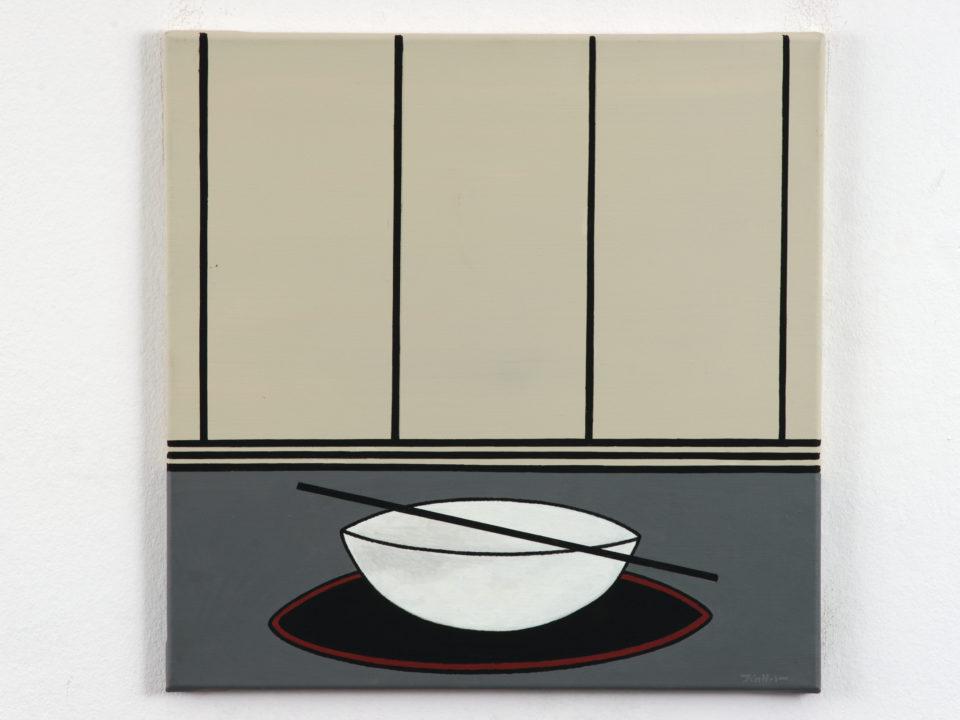 Udo Kaller, die weiße Schale, Sonderausstellung, Ausstellung Kunst, RothenburgMuseum