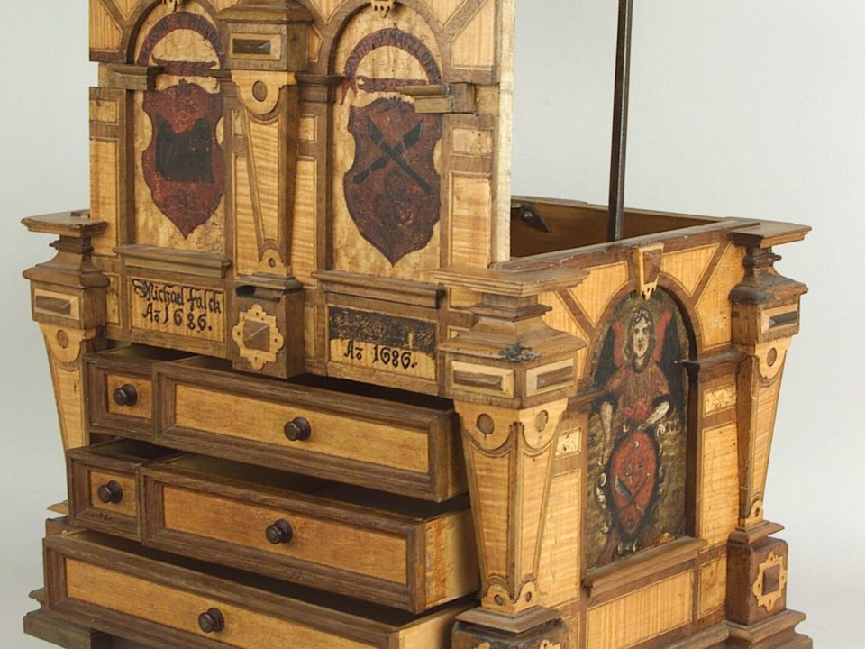 RothenburgMuseum, Rothenburg, Ausstellung, Sammlung, Zunft, Truhe, Safe