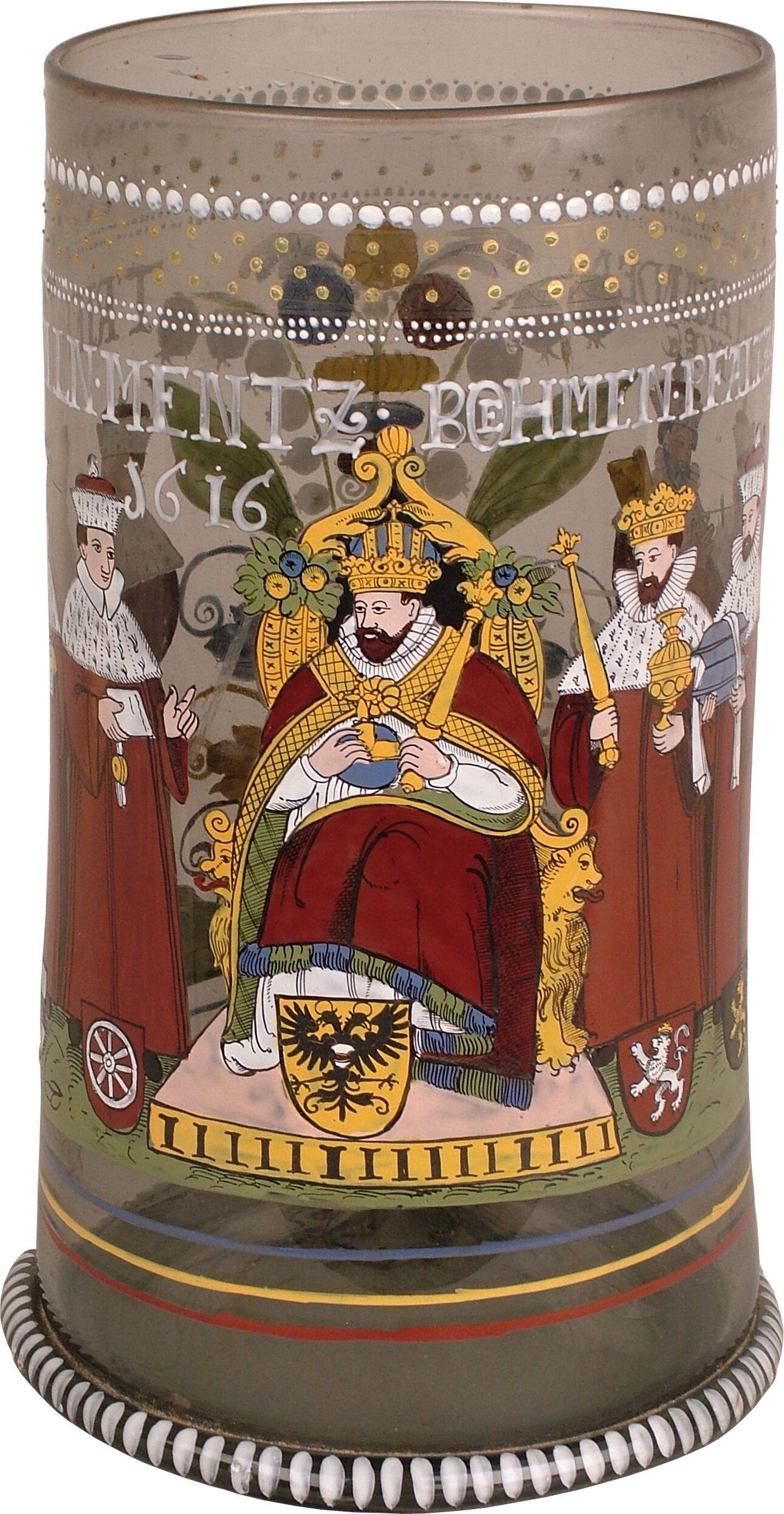 Der Rothenburger Kurfürstenhumpen im RothenburgMuseum