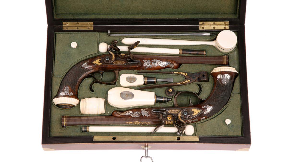 Duellpistolen von Fürst Klemenz von Metternich