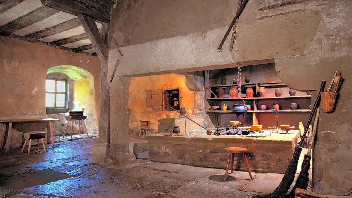 Klosterküche im RothenburgMuseum